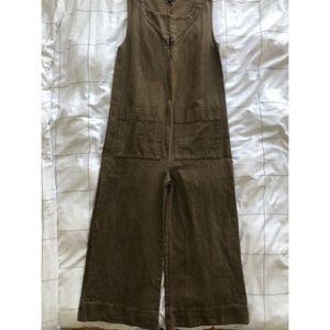 Ilana Kohn Olive Green Jumpsuit - Med - never worn